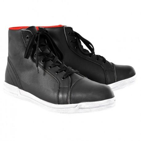 JERICHO Boots MEN Black /White OXFORD