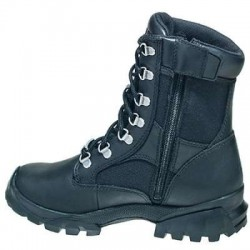 Bates Boots: Women's 47104 Black Derby Waterproof Slip Resistant Work Boots