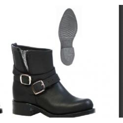 Boulet Ladies Biker style Round toe boot 4348