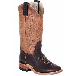 Canada West 4133 Brown Oiled Bullhide / Texano Brown Ladies Ropers