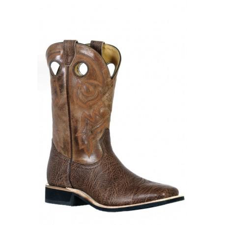 Boulet 9353 Shoulder Taurus Noce Wide Square Toe Boots