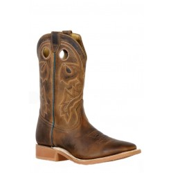 Boulet 9350 HillBilly Golden Wide Square Toe Boots