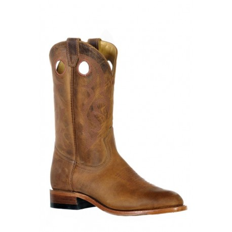 Boulet 9397 HillBilly Golden Round Toe Boots