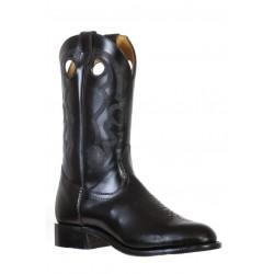 Boulet 9398 Genesis Black Round Toe Boots