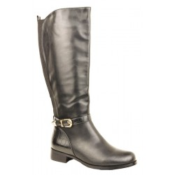 "ladies boots-3A163-6 12"" Riding Boot"