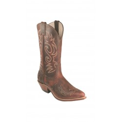"Boulet 12"" Ladies Rough Rider Sonora Cowboy toe boot 6007"