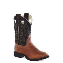 Old West Youth CW2553Y Leather Boots Comfort Wear