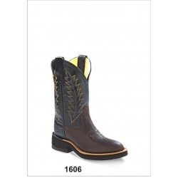 Old West Youth 1606Y Leather Western Boots