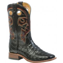 Boulet Mens Caiman Wide square toe boot 9503