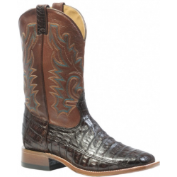 Boulet Mens Caiman Wide square toe boot 9500