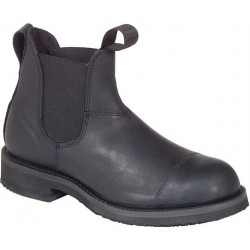 "Men`s CANADA WEST® Romeos - 14329 6"" Black Loggertan"