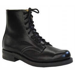 "Men`s CANADA WEST® Service Footwear - 7"" Black Oxford - Smooth - 13205"