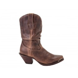 CRUSH BY DURANGO WOMEN'S BROWN SULTRY SLOUCH BOOT - RD34941a