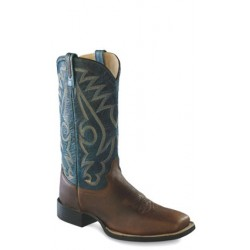 OLD WEST -Mens Broad Square Toe Boot BSM1870