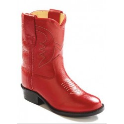 Old West Toddler Red Cowboy Boots 3116
