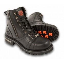 "MBM9000 - Milwaukee Men's 6"" Side Zipper Plain Toe Boots"