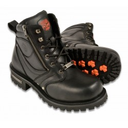 Milwaukee Leather Men's Motorcycle Boots MBM9050/9050W