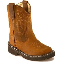 Old West Boys' Crazyhorse Tubbies Boot - Tb2251