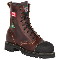 Ladies Canada West 6207 Steel-Toe Lace Work Boots CSA Grade 1