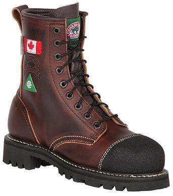 Ladies Canada West 6207 Steel-Toe Lace