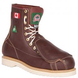 Canada West 34412 Steel-Toe Lace Work Boots CSA Grade 1