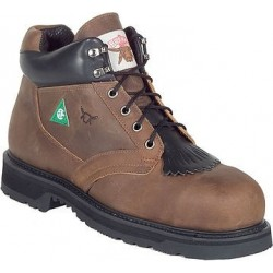 Canada West BRAHMA 7200 Steel-Toe Lace Work Boots CSA Grade 1
