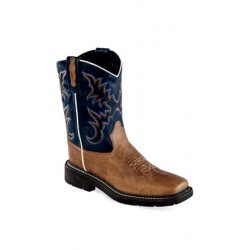 OLD WEST WB1002 Childrens Square Toe