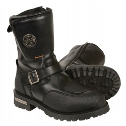 "Milwaukee MBM9071WP Men's 9"" Waterproof Boot w/ Reflective Piping & Gear Shift Protection"