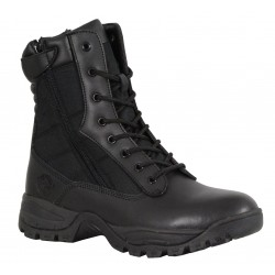 "Milwaukee MBM9110 Men's 9"" Leather Tactical Boot w/ Side Zipper"