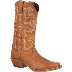 Crush by Durango DRD0090 Women's Cross Strap Western Boot