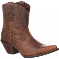 Crush by Durango DRD0166 Women's Western Embossed Bootie