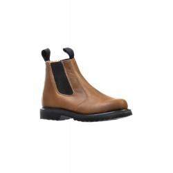 BOULET Mens Hillbilly Golden Round Toe Western Boot 6232