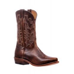 "Boulet's 13"" Damiana Moka Cutter Toe Boot 6286"
