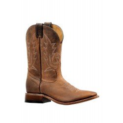 "Boulet's Challenger 10"" Virginia Mesquite Mens Wide Square Toe Boot 6243"