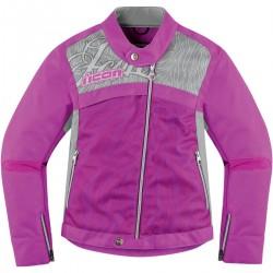 Icon Womens Hella 2 Jacket Purple