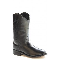 Old West SRL4010 Womens Black Roper Boots