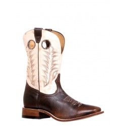 "Boulet's Challenger 11"" Damiana Moka Mens Wide Square Toe Boot - 7755"