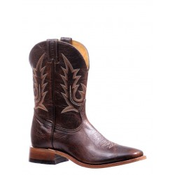 "Boulet's Challenger 11"" Damiana Moka Mens Wide Square Toe Boot 7237"