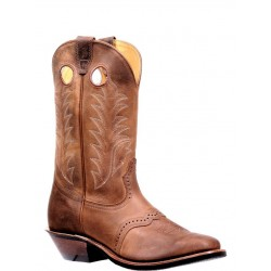 "Boulet's Challenger 11"" Virginia Mesquite Mens Wide Square Toe Boot 7767"