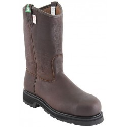 "Canada West 5295 12"" Bark Stormy-Insulated-Lined Steel-Toe Work Western Boots CSA Grade 1"