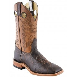 "Rock Valley Oak/Beirut Roble 12"" 8200 Canada West Leather Sole Brahma Ranchman Ropers"