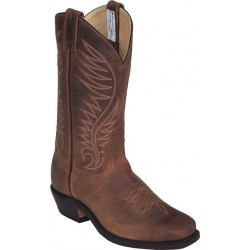 "12"" Crazy Bayou Brahma 6540 by Canada West W Leather Sole"
