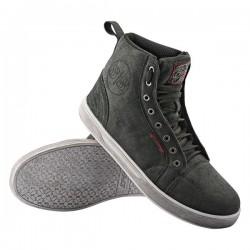 BLACK NINE Moto Shoe Black by Speed & Strength