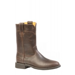 """Boulets Rugged Country 8"""" Mens Choco Leather Round toe - 2506"""