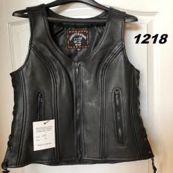 Women's Side-lace Vest 1218
