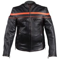 MENS Orange stripe jacket MJ812