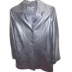 SKINER Leather jacket black