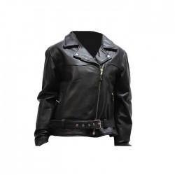 Womens Cowhide Motorcycle Jacket