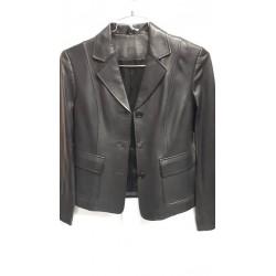 Ladies Leather Blazer 2227B