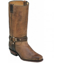 Boulet Boots Motorcycle Vagabond Toe 5077 Hill Billy Golden
